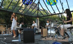 Anka Repková s kapelou na Kultúrnom lete v Bratislave