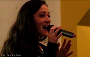 Anka Repková vo Phonetic Cafe v Londýne