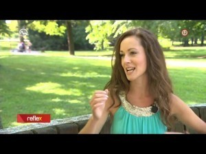 Anka Repková v Reflexe na TV Markíza