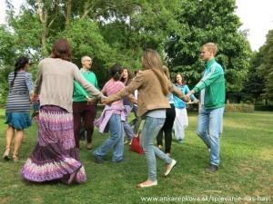 Zbor Anky Repkovej - Spievanie nás baví v Medickej záhrade