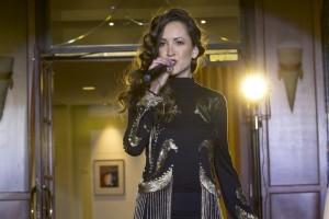 Anka Repková spieva na Stilago fashion