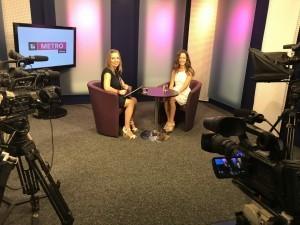 Anka Repková na rozhovore v TV Bratislava s Dadou Simanovou.