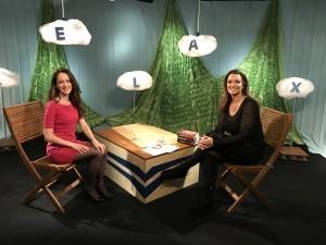 Anka Repková a Karin Majtánová v relácii Relax na TV Ružinov