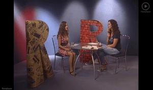 Anka Repková s Karin Majtánovou v relácii Relax na TV Ružinov