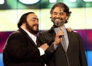 Luciano Pavarotti, Andrea Bocelli