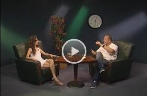 Anka Repková v talkshow Romana Bomboša KingKong vo vani