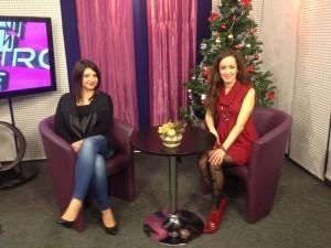 rozhovor v TV Bratislava, Silvia Septakova, 5.1.2016